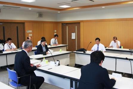 第1回大学間連携に係る準備委員会